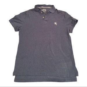 Light Blue Express Men's Short Sleeve Polo M